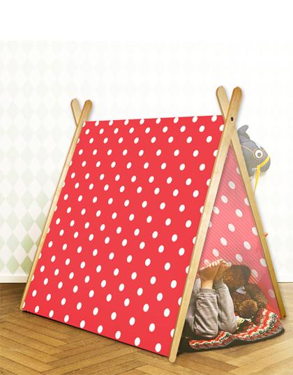 Curioo wooden tent