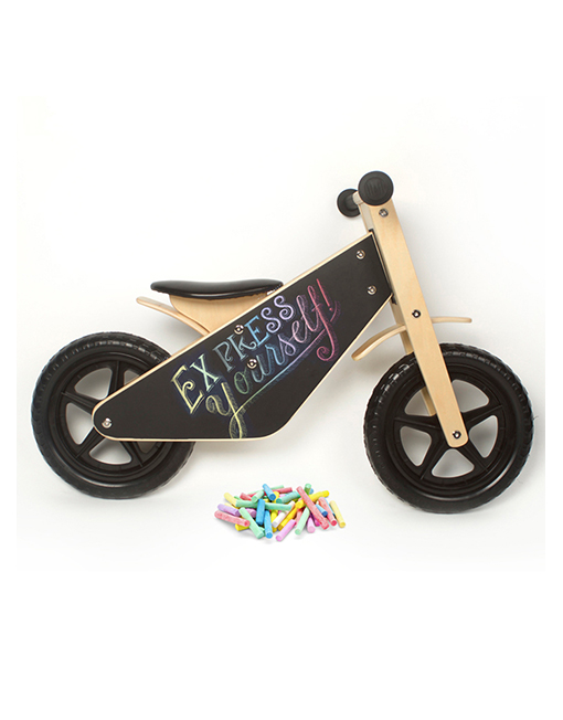 Draw on me balance bike