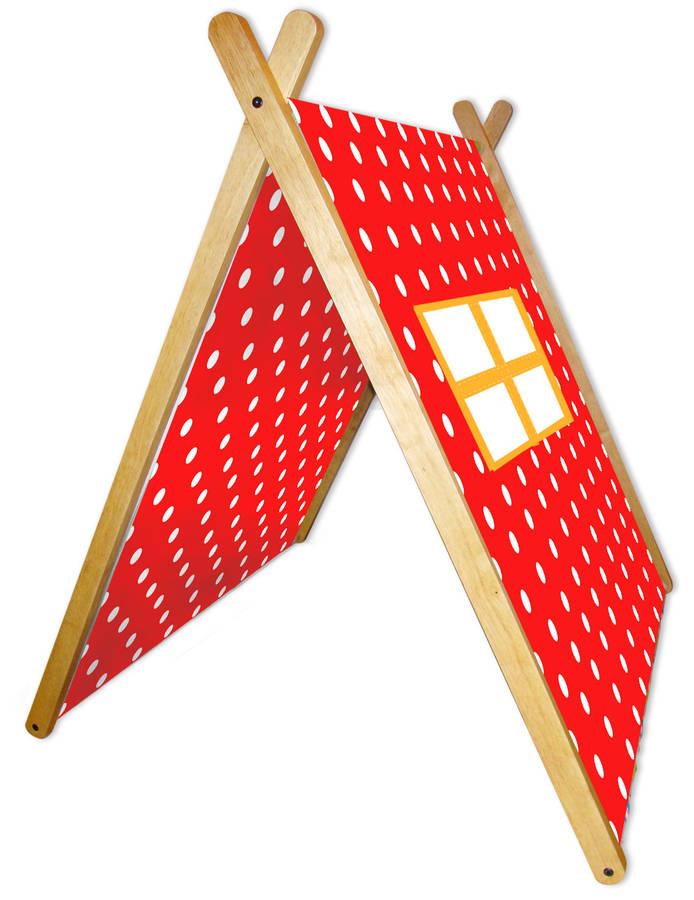 Polka Dot Collapsible Play Tent