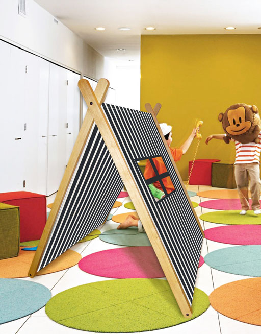 Curioo collapsible play tent
