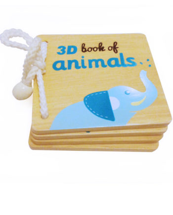 3d book of animals with augmented reality technology