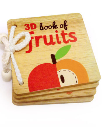 3d book of fruit with augmented reality technology