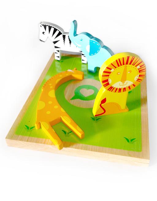 2 in1 safari puzzle